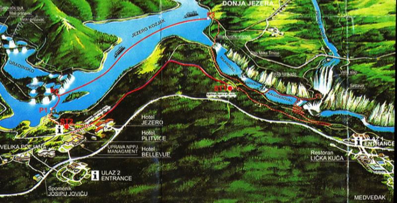 Plitvika Jezera  Lower Lakes
